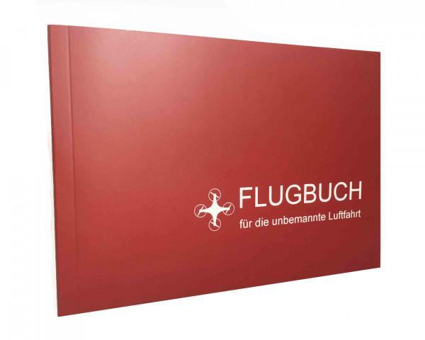 Drohnenflugbuch Flugbuch für die unbemannte Luftfahrt Cover