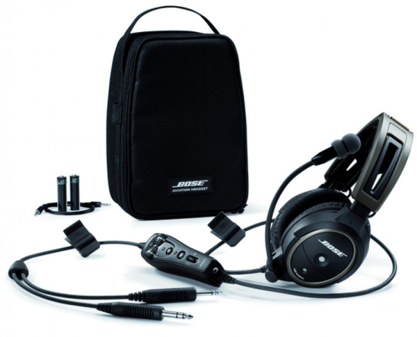 Bose A20® Aviation Headset mit PJ-Zwillingsstecker, mit Bluetooth