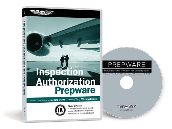 ASA Inspection Authorization Prepware Software 8. Auflage