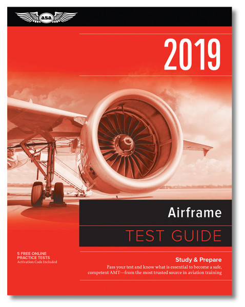 Fast Track 2019 Test Guide: Airframe (Buch)