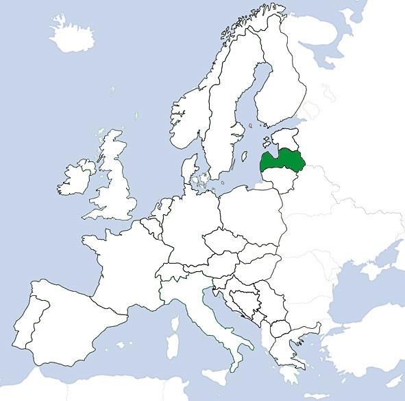 JeppView VFR: Lettland
