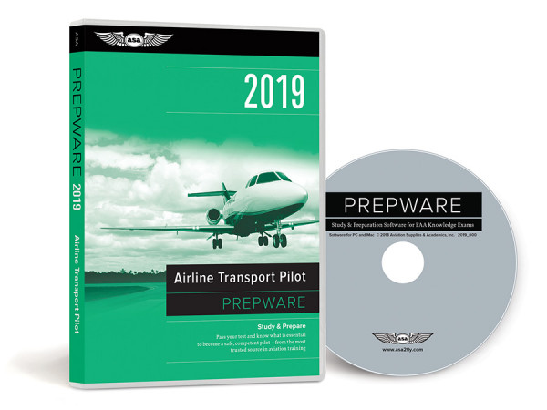 Prepware 2019: Airline Transport Pilot (Software, DVD)