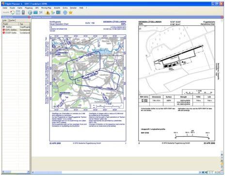 Flight Planner - VFR-Anflugkarten - AIP Deutschland inkl. Heli