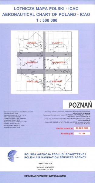ICAO-Karte Polen Poznan
