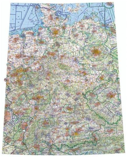 Icao Wandkarte Blatt Nord Und Sud Ausgabe 2020 1 500 000