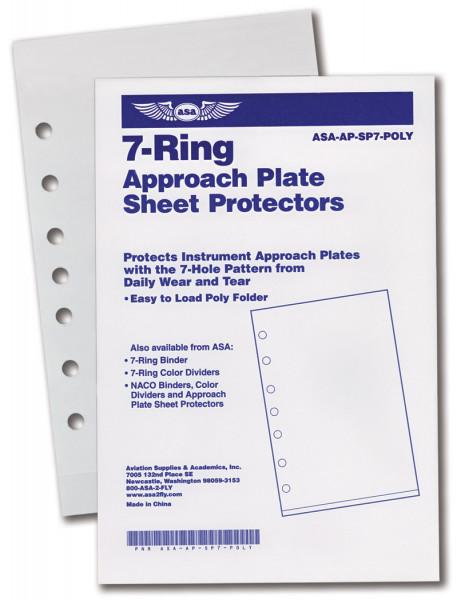 Sheet Protector for 7-hole(10 Stück)