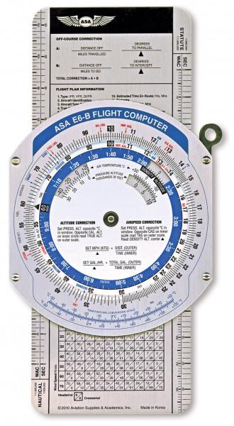 Flight Computer E6-B Color