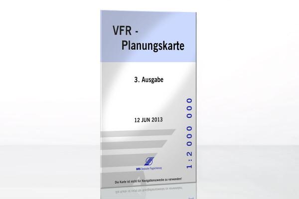 VFR-Planungskarte, Ausgabe 3 (JUN 2013)