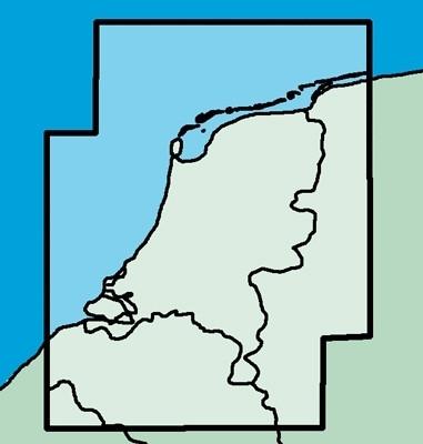 ICAO-Karte Niederlande (Ausgabe 2019)