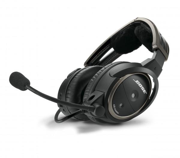 Bose A20® Headset mit U174-Stecker, Wendelkabel, mit Bluetooth
