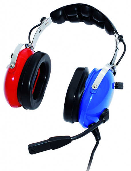 PA51, Kinder-Headset PA51, blau-rot