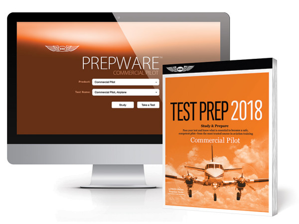 Test Prep Commercial Pilot 2018 Bundle