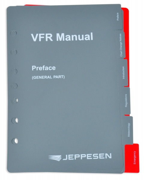 VFR Manual: Sachregister