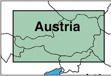 ICAO-Karte Österreich