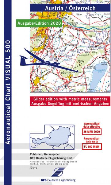 Visual 500 Austria Glider (Ausgabe 2020)