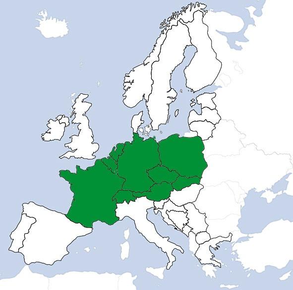 JeppView VFR: TripKit - Europa Zentral (digital)