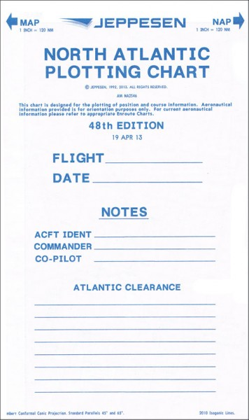North Atlantic Plotting Charts (Set of 5)