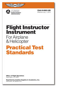 Practical Test Standards: Flight Instructor Instrument