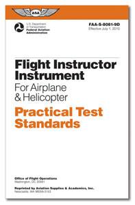 Practical Test Standards: Flight Instructor Instrument