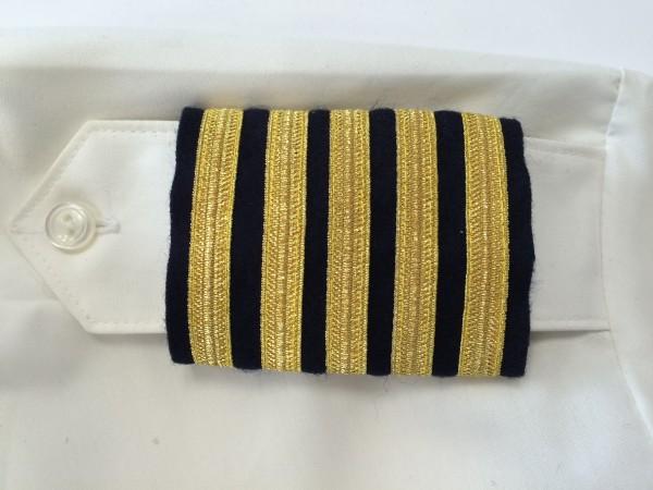Schulterstreifen Testpilot (5 Streifen)