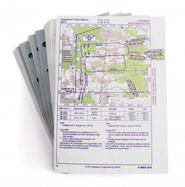 AIP VFR-TripKit, Loseblattsammlung ohne Ordner + Register