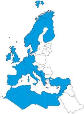JeppView IFR: ERM Europa + MIttelmeer