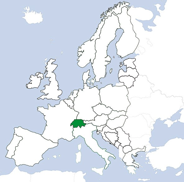 JeppView VFR: Schweiz