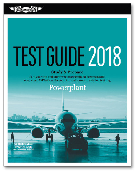 AMT Test Guide Powerplant 2018