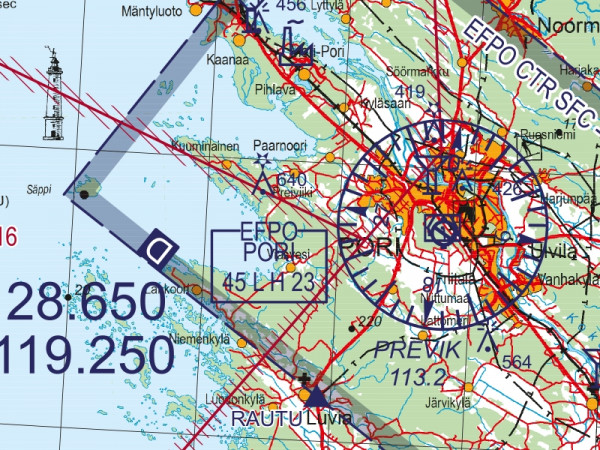 ICAO Finland Southern
