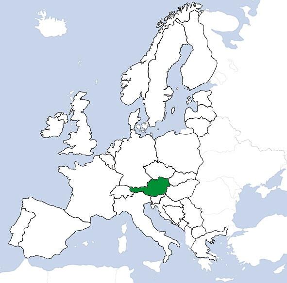 JeppView VFR: Österreich