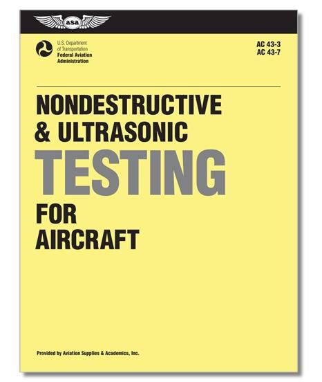 Nondestructive & Ultrasonic Testing for Aircraft - Abverkauf