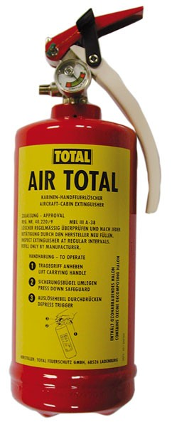 Feuerlöscher TOTAL Air Total - Halon1211 - 2,5 kg