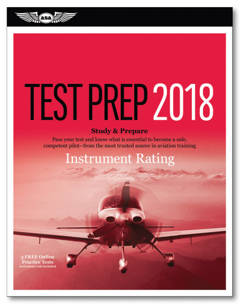 Test Prep Instrument Rating 2018