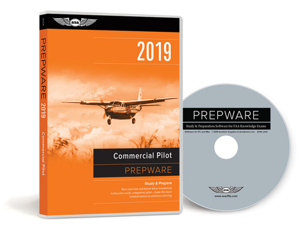 Prepware 2020: Commercial Pilot (Software, DVD)