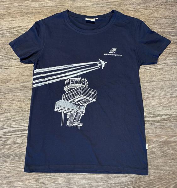 DFS Merch T-Shirt Herren mit Motiv Tower und Flugspuren