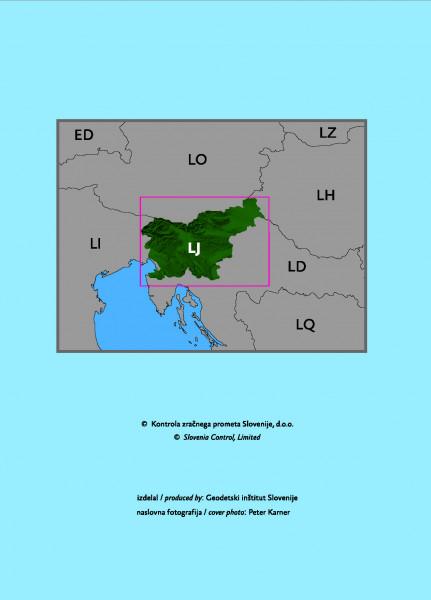 VFR Aeronautical Chart Slovenia 1:250.000