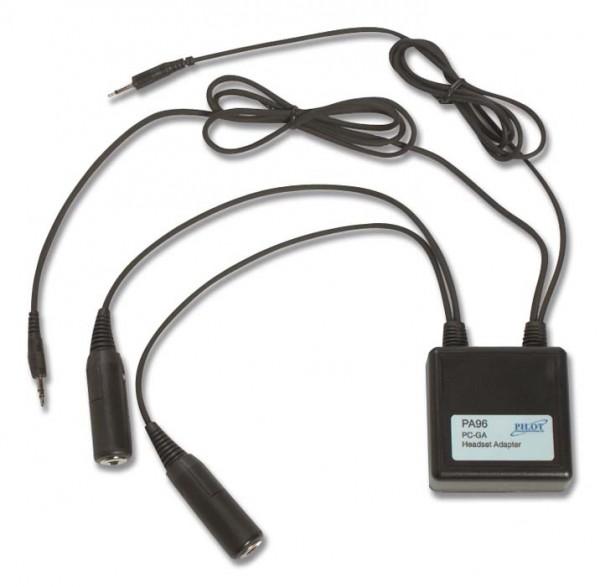Headset-Konverter PJ-Stecker auf PC-Klinke, PA 96-PC