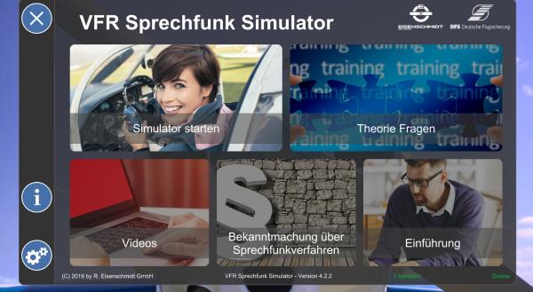 VFR Sprechfunk Simulator Version 5.x