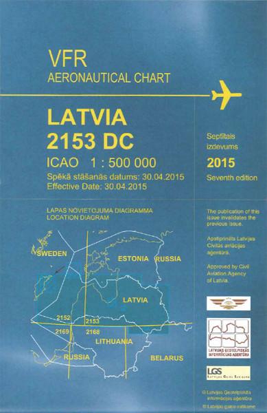 ICAO Karte Lettland / Latvia