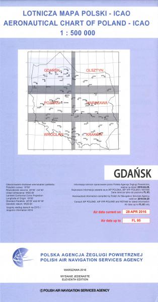 ICAO-Karte Polen Gdansk