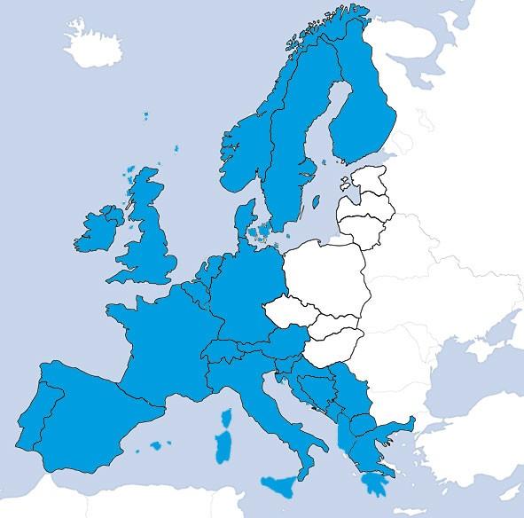 JeppView IFR: EUR Europa