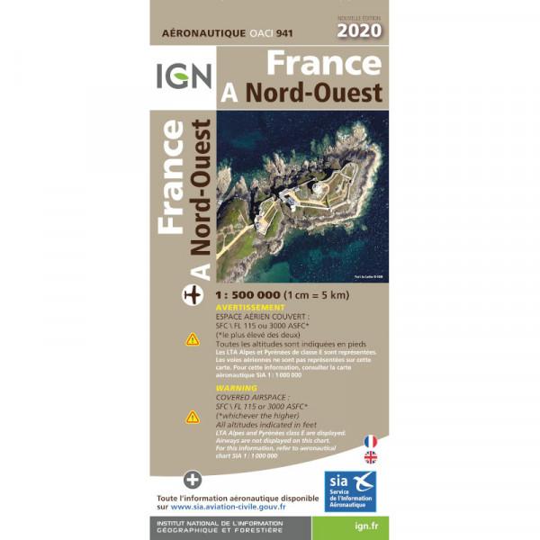 ICAO-Karte Frankreich: Nordwest (2020) - (Vorbestellung)