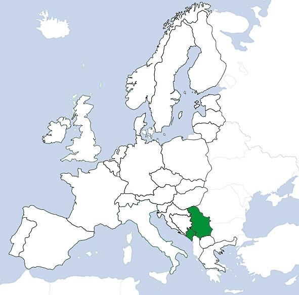 JeppView VFR: TripKit - Serbien/Montenegro (digital)