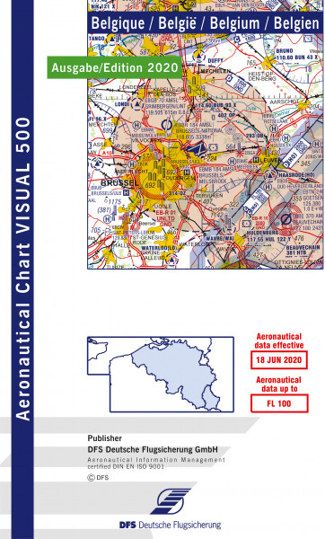 Visual 500 Belgium (Ausgabe 2020) (Vorbestellung)