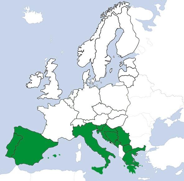 JeppView VFR: Europa Süd