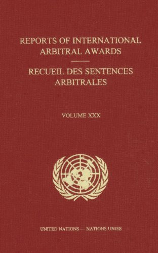 Reports of International Arbitral Awards, Vol. 32 (United Nations)