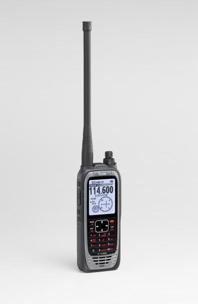ICOM Flugfunkgerät IC-A25NE, seitlich