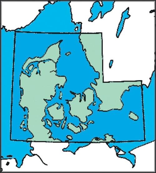 ICAO-Karte Dänemark (Ausgabe 2020)
