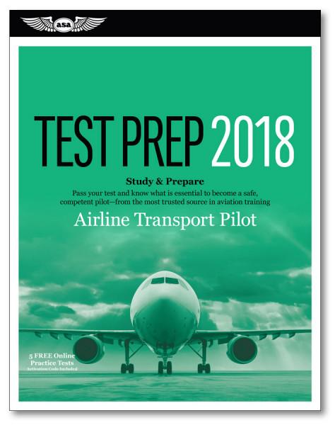 Test Prep Airline Transport Pilot 2018