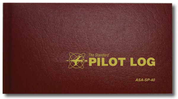 Standard Pilot Log - Burgundy